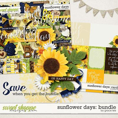 Sunflower Days: Bundle by Grace Lee