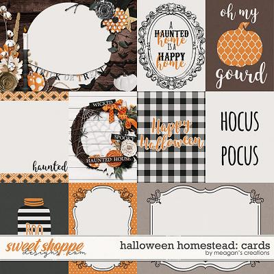 Halloween Homestead: Cards by Meagan's Creations
