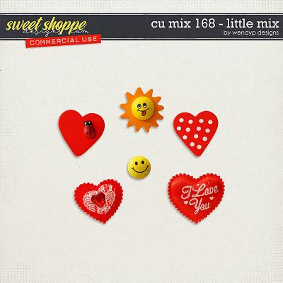 CU Mix 168 -Little mix by WendyP Designs
