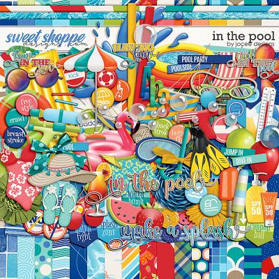 In the Pool by JoCee Designs