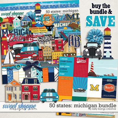 50 States: Michigan Bundle by Kelly Bangs Creative