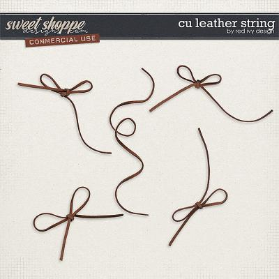 CU Leather String by Red Ivy Design