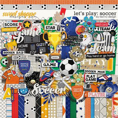 Let's Play: Soccer by Red Ivy Design