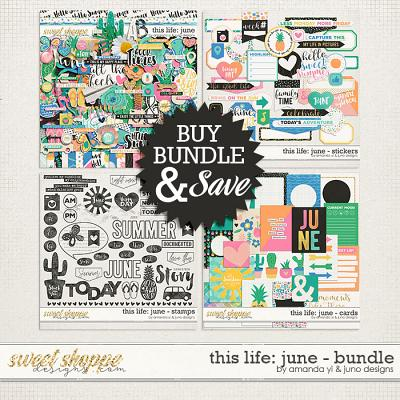 This Life: June - Bundle by Amanda Yi & Juno Designs
