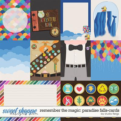 Remember the Magic: PARADISE FALLS- CARDS by Studio Flergs
