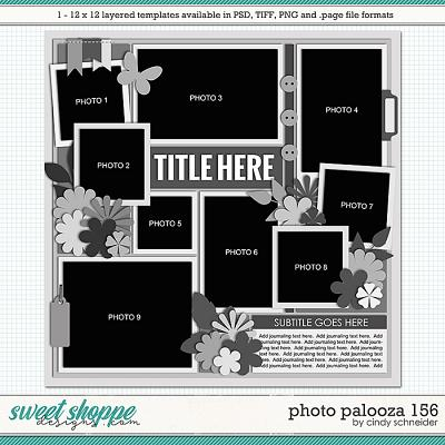 Cindy's Layered Templates - Photo Palooza 156 by Cindy Schneider
