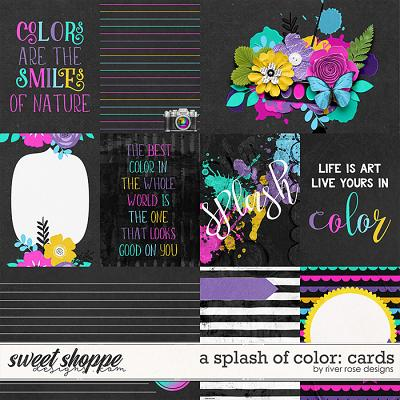 A Splash of Color: Cards by River Rose Designs