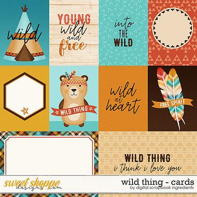 Wild Thing | Cards by Digital Scrapbook Ingredients