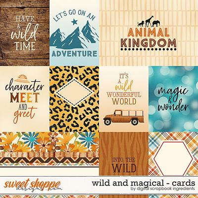 Wild And Magical | Cards by Digital Scrapbook Ingredients
