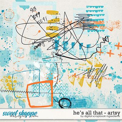 He's All That | Artsy by Digital Scrapbook Ingredients