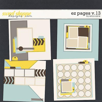 EZ Pages v.13 Templates by Erica Zane