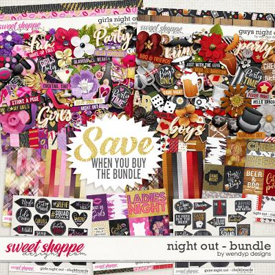 Night out - mega bundle by WendyP Designs
