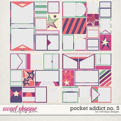 Pocket Addict No.5 by WendyP Designs