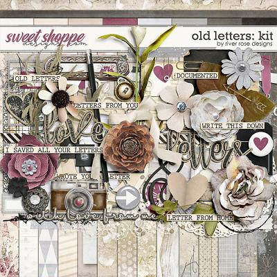 Old Letters: Kit by River Rose Designs