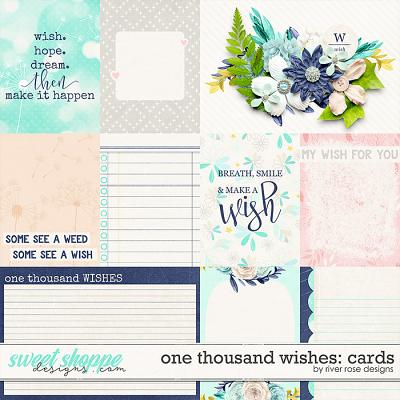 One Thousand Wishes: Cards by River Rose Designs