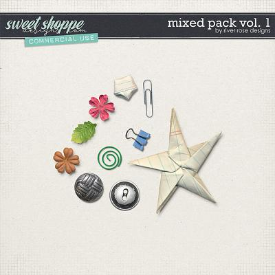 CU Mixed Pack Vol. 1 by River Rose Designs