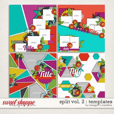 Split Vol. 2 : Templates by Meagan's Creations