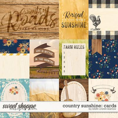 Country Sunshine: Cards by Kristin Cronin-Barrow