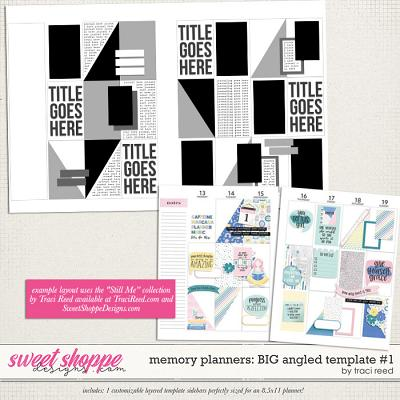 Memory Planners - Big - Angled #1 by Traci Reed