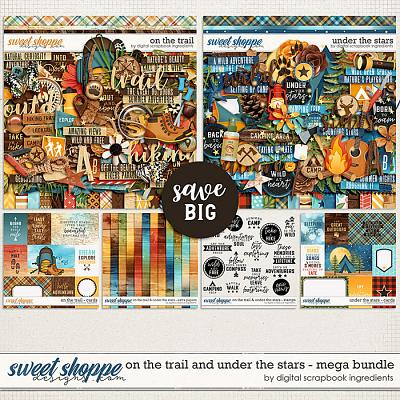 On The Trail & Under The Stars Mega Bundle by Digital Scrapbook Ingredients