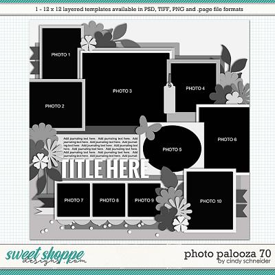 Cindy's Layered Templates - Photo Palooza 70 by Cindy Schneider