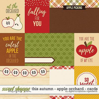 This Autumn - Apple Orchard | Cards by Digital Scrapbook Ingredients