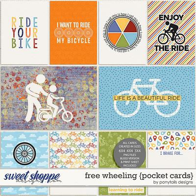 Free Wheeling Pocket Cards by Ponytails