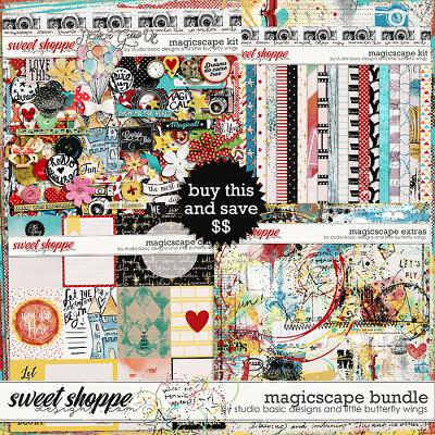 Magicscape Bundle by Studio Basic and Little Butterfly Wings