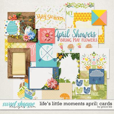 Life's Little Moments April: Cards by Grace Lee