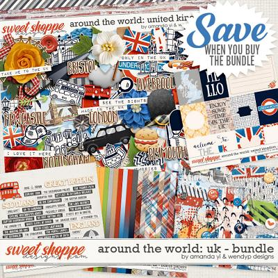 Around the world: United Kingdom - bundle by Amanda Yi & WendyP Designs
