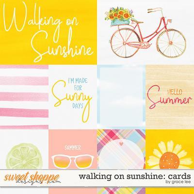 Walking On Sunshine: Cards by Grace Lee