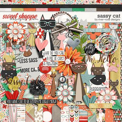 Sassy Cat by River Rose Designs