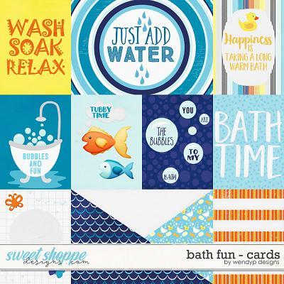 Bath fun - cards by WendyP Designs