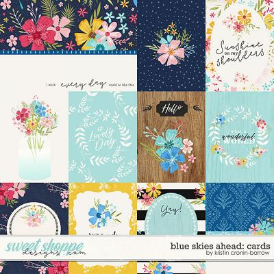 Blue Skies Ahead: Cards by Kristin Cronin-Barrow