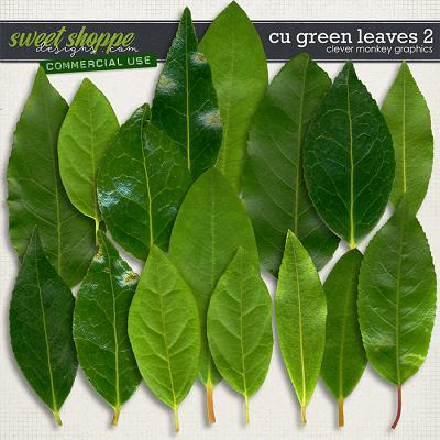 CU Green Leaves 2 by Clever Monkey Graphics
