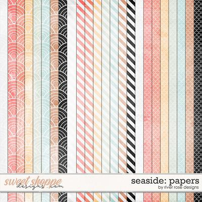 Seaside: Papers by River Rose Designs