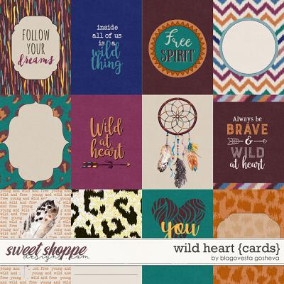 Wild Heart {cards} by Blagovesta Gosheva