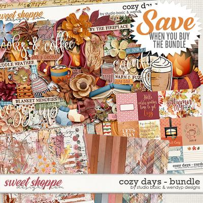Cozy Days Bundle by Studio Basic & WendyP Designs