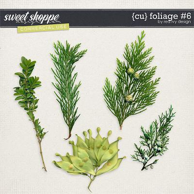 CU Foliage #6 by Red Ivy Design