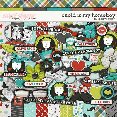 Cupid Is My Homeboy: Digital Kit by Laura Wilkerson