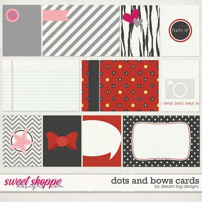 Dots and Bows Cards by Dream Big Designs