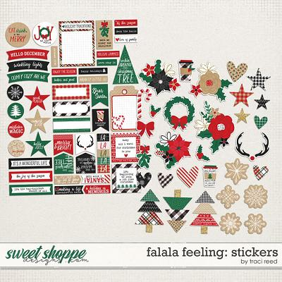 FaLaLa Feeling Stickers by Traci Reed