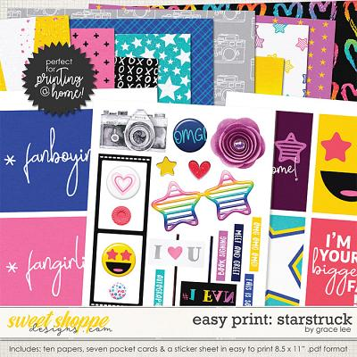 Easy Print: Starstruck by Grace Lee