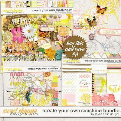 Create Your Own Sunshine Bundle by Studio Basic