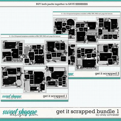 Cindy's Layered Templates - Get It Scrapped Bundle 1 by Cindy Schneider