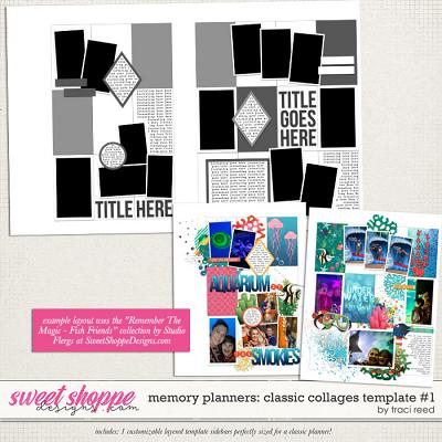 Memory Planners - Classic - Collages #1 by Traci Reed