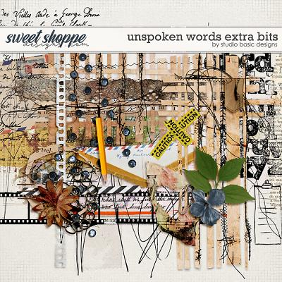 Unspoken Words Extra Bits by Studio Basic