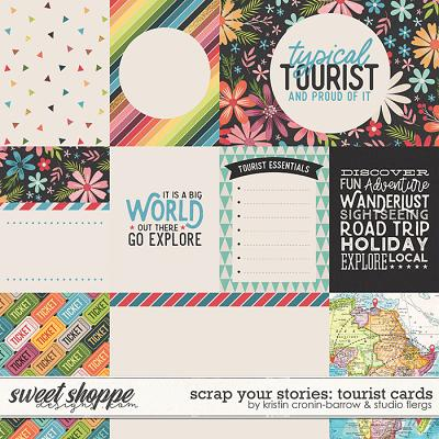 Scrap Your Stories: Tourist- CARDS by Studio Flergs & Kristin Cronin-Barrow