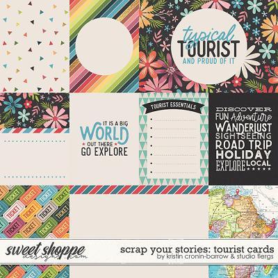 Scrap Your Stories: Tourist- CARDS by Studio Flergs & Kristin Cronin-Barrow