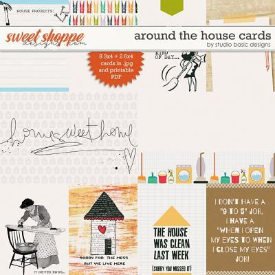 Around The House Cards by Studio Basic